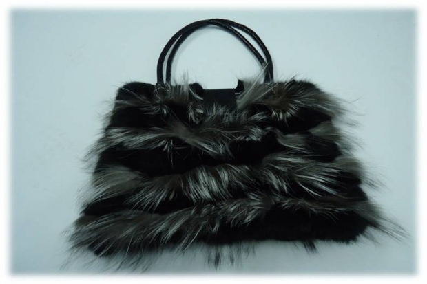 Fur bag from fox and lapin 5